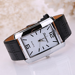 Masculino Relógio Elegante Quartz Banda Preta marca-