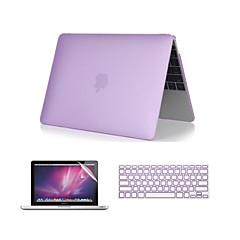 """3 in 1 kristallinkirkas Pehmeä kotelo näppäimistön kansi ja näytön suojus MacBook Pro 13 """"/ 15"""" 'kanssa verkkokalvo"""