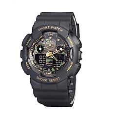 Military Camouflage Mountaineering Cold Dual Display Electronic Waterproof Outdoor Men's High-end Sports Watches