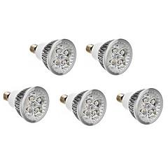 5pcs E14 6W 500LM Warm/Natural/Cool White LED Spotlight AC 220-240V