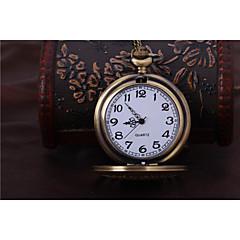Αντρικά Γυναικεία Unisex Ρολόι Τσέπης Αυτόματο κούρδισμα Εσωτερικού Μηχανισμού κράμα Μπάντα Χρυσό