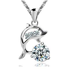 Modische Halsketten Anhängerketten Schmuck Hochzeit / Party / Alltag / Normal Modisch Sterling Silber Silber 1 Stück Geschenk