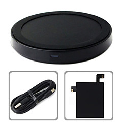 tip-c qi kablosuz şarj v10 lg için NFC ile mat pad + alıcı etiket şarj