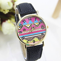 Women's Fashionable Leisure  Ethnic Style Watch Leather Band Cool Watches Unique Watches