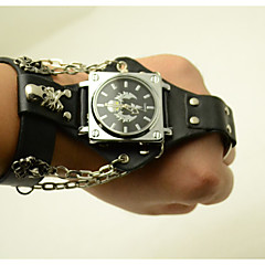 Unisex Fashion Watch Hip-Hop Style Scorpion Ring Strap Connected To The Chain Skull Quartz Watch(Assorted Colors)