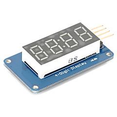 4 bits digital rør LED display modul med ur display tm1637 for Arduino hindbær pi