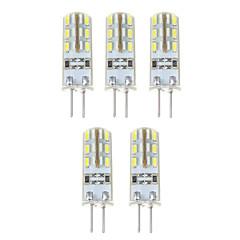 1.5W G4 LED-maissilamput T 24*5 SMD 3014 500 lm Neutraali valkoinen DC 12 V