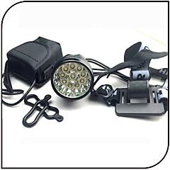 Lampes Frontales / Lampe Avant de Vélo LED Cree XM-L T6 Cyclisme Etanche / Rechargeable / Résistant aux impacts 18650 12000 Lumens