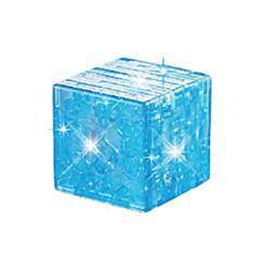 Puzzle Zabawki 3D / Kryształowe puzzle Cegiełki DIY Zabawki magiczna kostka ABS Brązowy Model / klocki