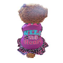 Perros Vestidos Rosa Ropa para Perro Verano Animal / Corazones Leopardo