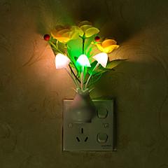 kreativ foranderlig farge blomst lyssensor nattlys