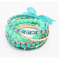Alloy / Lace Bracelet Bangles / Strand Bracelets Wedding / Party / Daily / Casual 1pc