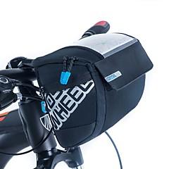 ROSWHEEL® Bike Bag 3LBike Handlebar Bag Waterproof Zipper / Moistureproof / Shockproof / Wearable Bicycle BagPU Leather / Mesh / Cloth /