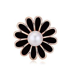 Γυναικεία Κρυστάλλινο Μαργαριτάρι Επιχρυσωμένο Λευκό Μαύρο Μαύρο/Άσπρο Κοσμήματα Γάμου Πάρτι Καθημερινά