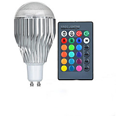 GU10 85V-265V 600-800Lm 10W RGB Remote Control LED Colorful Bulbs