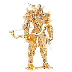 Puzzles 3D - Puzzle / Metallpuzzle Bausteine DIY Spielzeug Krieger Metall Gold Model & Building Toy