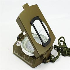 Compasses Pocket / Convenient Hiking / Camping / Travel / Outdoor Alloy Metal Green