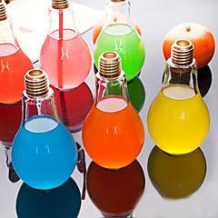 creatieve bol glazen fles water draagbare sapkop