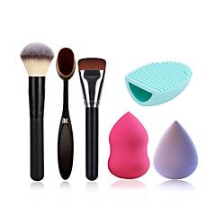 Toz fırça makyaj fırçası vakıf fırça temizleme fırçası yumurta ve makyaj süngeri (büyük olabilir su almak)