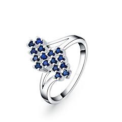 Ringen Modieus Bruiloft / Feest / Dagelijks / Causaal Sieraden Verzilverd Dames Statementringen 1 stuks,7 / 8 Zilver