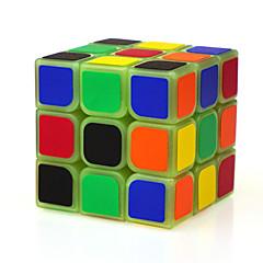Jouets Yongjun® Cubes magiques 3*3*3 Vitesse / Noctilumineux magic Toy Cube de vitesse lisse Magic Cube Puzzle Vert ABS
