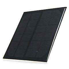 3w 6v de salida del panel solar de silicio policristalino de bricolaje