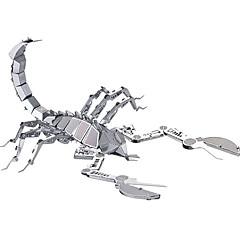 Pussel 3D-pussel / Metallpussel Byggblock DIY leksaker Metal Rosa Modell- och byggleksak