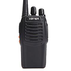 Producent OEM VBT-V3 Krótkofalówki ≤5W 16 400-470MHz 1500MAh 3KM-5KMAlarm awaryjny / Uruchamianie głosowe / VOX / Wskaźnik poziomu