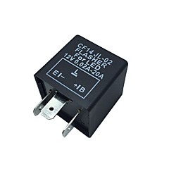 Car Motorcycle Fix LED 12V Elektroniczny wskaźnik Flasher Relay Blinker