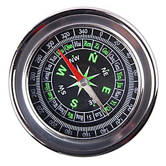 Compass 75mm Alloy Simple Edition Good Luck Chinese Feng Shui Compass