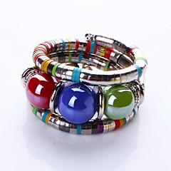 Bracelete / Pulseiras Strand 1pç,Moderno / Bohemia Estilo Others Azul Escuro / Fronha / Cor de Rosa / Rosa Claro Liga Jóias Presentes
