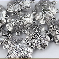 el encanto de bloqueo aleación de plata suerte de las mujeres de joyería de bricolaje
