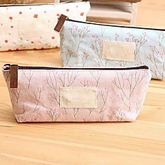 Floral Canvas Multi-Functional Pencil Case Stationery Bags