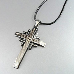 Escritura - collar colgante de la cruz