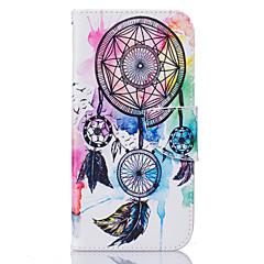 Voor Samsung Galaxy S7 Edge Kaarthouder / Portemonnee / met standaard / Flip / Patroon hoesje Volledige behuizing hoesje Dromenvanger