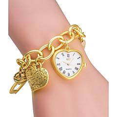 ASJ Damen Modeuhr Armband-Uhr Japanisch Quartz Japanischer Quartz / Legierung Band Heart Shape Silber Gold Silber Golden