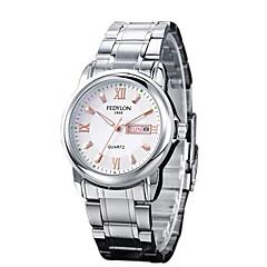 мужская мода кварц ночь свет аналоговый платье часы (ассорти цветов)
