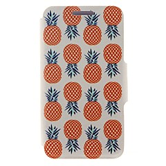 Kinston® Pineapple Pattern PU Leather Case For iPhone 7 7 Plus 6s 6 Plus SE 5s 5c 5 4s 4