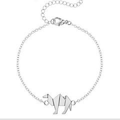 Kiming Korean Seweet Gold/Silver Chain Camel Animal Tiny Bracelet Jewelry