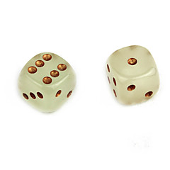 15mm zöld fény világító kocka (2db)