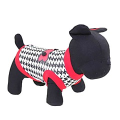 Koty / Psy T-shirt Red Ubrania dla psów Lato Kwiatowy/roślinny Modny