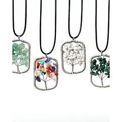 Női Nyaklánc medálok Páva Rozsdamentes acél Drágakő Divat jelmez ékszerek Ékszerek Kompatibilitás Napi Hétköznapi