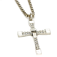 Cross Necklace,Silver