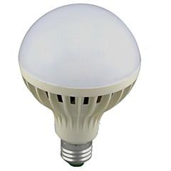 12W E26/E27 Ampoules LED Intelligentes A60(A19) 24 SMD 2835 1100lm lm Blanc Froid Audio-activé Capteur AC 100-240 V 1 pièce