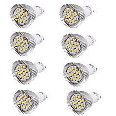 YouOKLight 8PCS GU10 7.5W  Warm White  White   700lm 15-SMD5630 LED Spotlight(AC 85~265V)/(AC110-120V)/(220-240V)