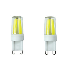 3W G9 LED à Double Broches T 4LED COB 280-400 lm Blanc Chaud Blanc Froid Blanc Naturel Gradable Décorative Etanches AC 100-240 AC 110-130