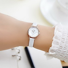 Women's Casual Mini Dial PU Leather Quartz Watch Fashion Watch Cool Watches Unique Watches