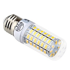 7W E14 / E26/E27 LED Corn Lights T 69 SMD 5730 840 lm Warm White / Cool White Decorative AC 220-240 V 1 pcs