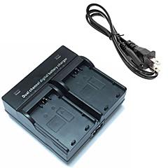 캐논 EOS에 대한 lpe5 디지털 카메라 배터리 듀얼 충전기 500D 1000D 450D
