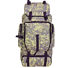 90 L Rese Duffelväska Resa Organisatör Ryggsäck Backpacker-ryggsäckar Camping Klättring Resa Vattentät Bärbar MultifunktionellNylon